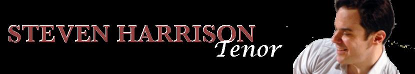 Steven Harrison - Tenor